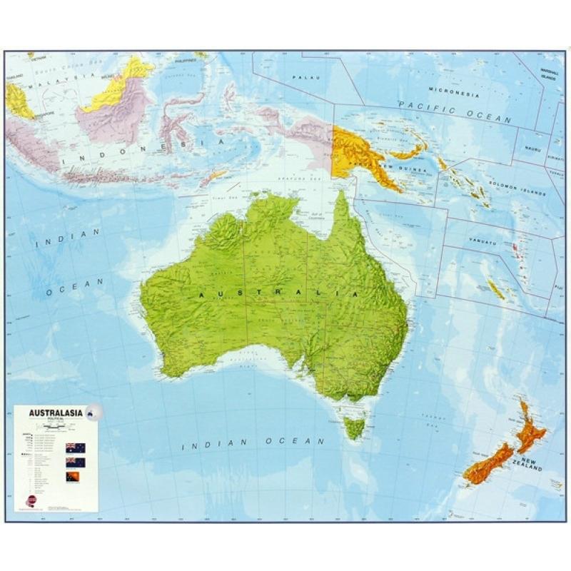 Carte Topographique Australie.Carte De L Australie Nos Produits Aux Quatre Points