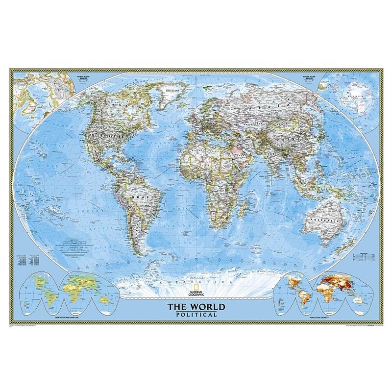 Carte Du Monde Plastifiee.Carte Politique Du Monde Plastifiee Nos Produits Aux Quatre